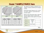 grade 7 sample parcc item