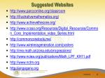 suggested websites