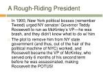 a rough riding president