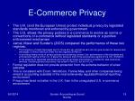 e commerce privacy