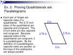 ex 2 proving quadrilaterals are parallelograms1