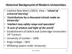 historical background of modern universities