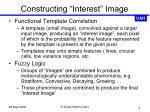 constructing interest image