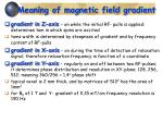 meaning of magnetic field gradient
