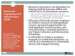 research engagement information skills1