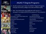 aa as t degree programs