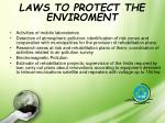 laws to protect the enviroment1