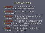 kinds of folds