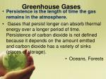 greenhouse gases1