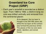 greenland ice core project grip