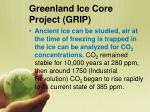 greenland ice core project grip1