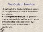 the costs of taxation1
