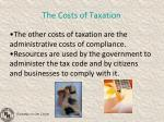 the costs of taxation2