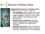sources of worker stress2