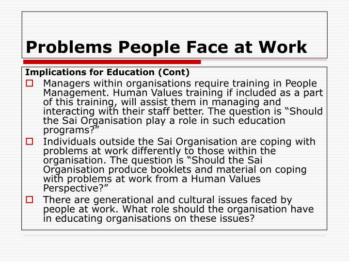 problems faced by working adult learners 5 common problems faced by students in elearning and how to overcome them elearning's time and place flexibility attracts more and more students to online education however, many of them encounter serious challenges that prevent them from completing their courses successfully.