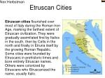 etruscan cities