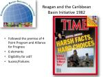 reagan and the caribbean basin initiative 1982