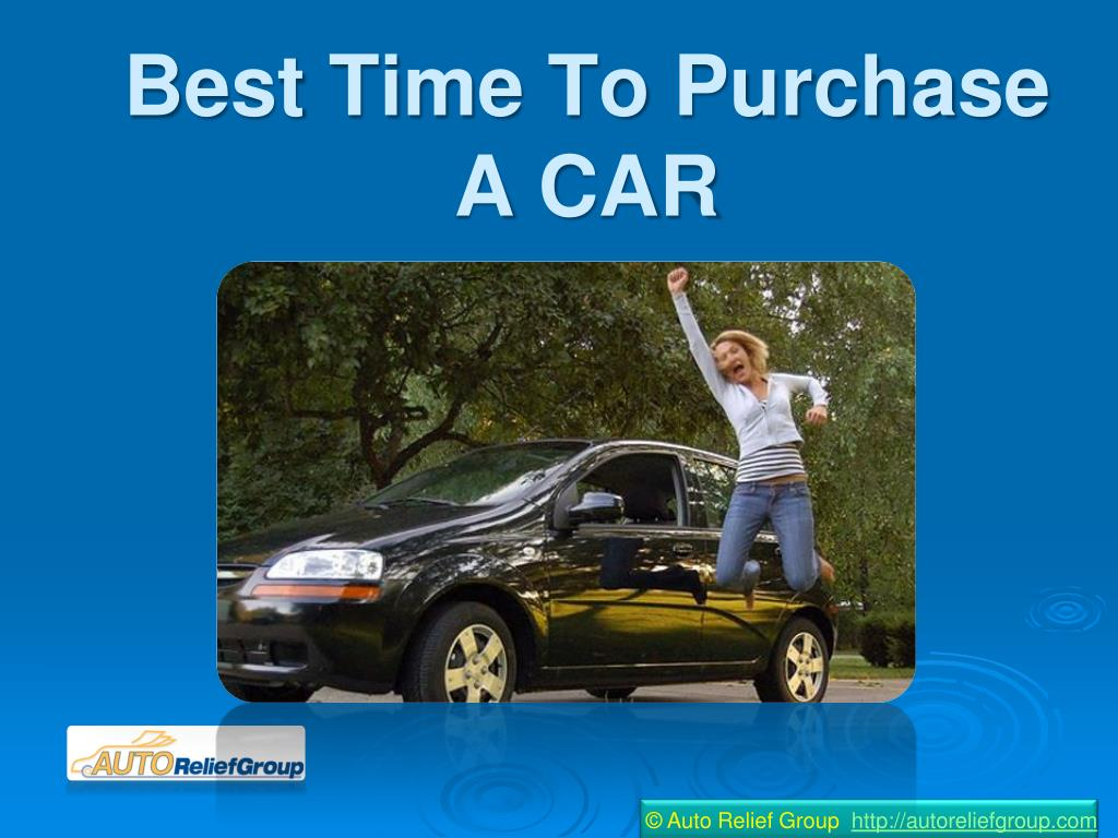 best time to purchase a car l.