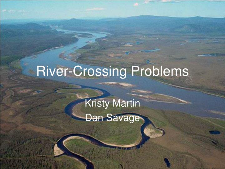 river crossing problems n.