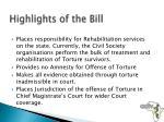 highlights of the bill1