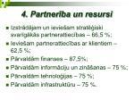 4 partner ba un resursi