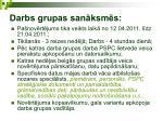 darbs grupas san ksm s