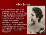 milka trnina