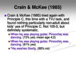 crain mckee 1985