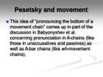 pesetsky and movement2