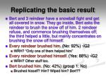 replicating the basic result
