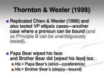 thornton wexler 19991