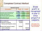 completed contract method5