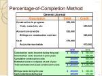 percentage of completion method6