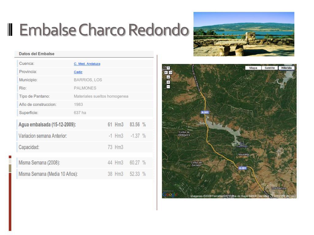 Embalse Charco Redondo