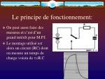 le principe de fonctionnement12