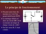 le principe de fonctionnement13