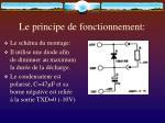 le principe de fonctionnement16