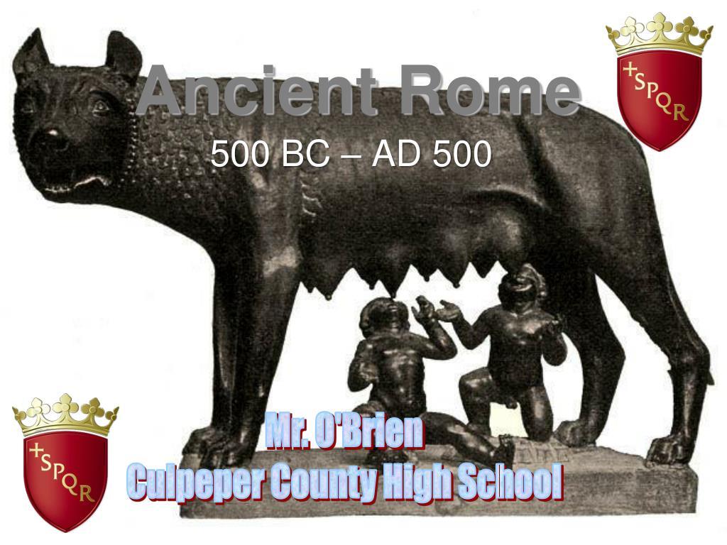 ancient rome l.
