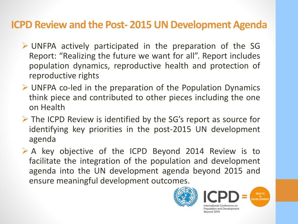 Icpd beyond 2014 review report