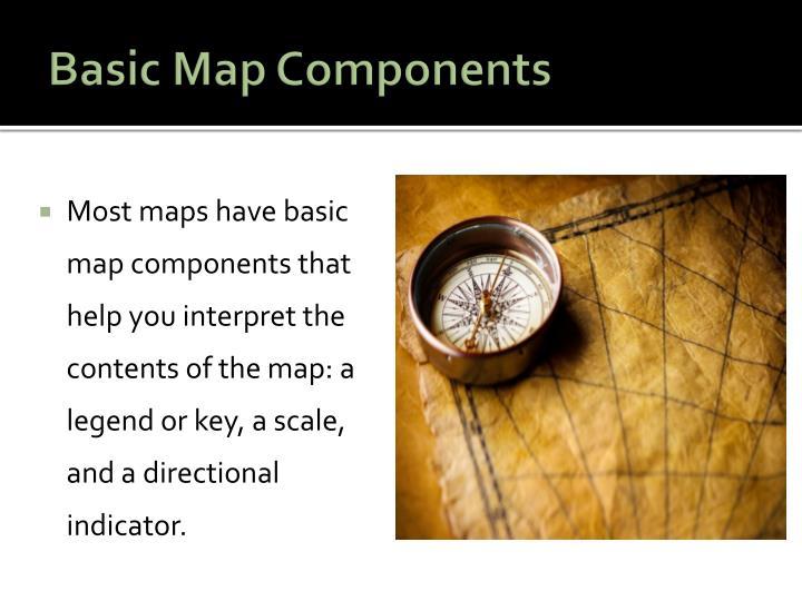 Basic Map Components