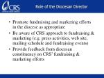 role of the diocesan director