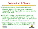 economics of obesity