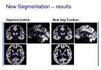 new segmentation results