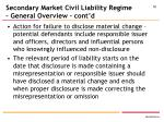 secondary market civil liability regime general overview cont d1