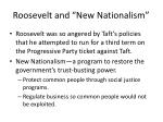roosevelt and new nationalism