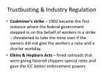 trustbusting industry regulation