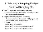 stratified sampling ii