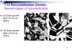 7 12 recrystallization contd several stages of recrystallization2