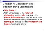 chapter 7 dislocation and strengthening mechanism