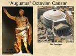 augustus octavian caesar